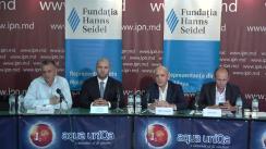 """Dezbateri publice cu tema """"Transferul pașnic de putere: motive, condiții și consecințe – factorul intern"""""""