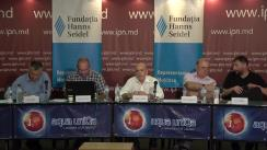 """Dezbateri publice cu tema """"Transferul pașnic de putere: motive, condiții și consecințe – factorul extern"""""""