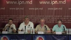 """Conferința de presă organizată de Asociația Națională """"COPYRIGHT"""" cu tema """"Autorii si interpreții - captivi ai cercului vicios al corupției. Demiterea Directorului AGEPI Lilia Bolocan"""""""