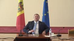 Briefing de presă susținut de Ministrul Economiei și Infrastructurii, Vadim Brînzan, de prezentare a Raportului pentru prima săptămână de activitate și prioritățile stabilite pentru perioada următoare