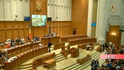 Ședința comună a Camerei Deputaților și Senatului României din 26 iunie 2019