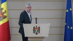 Declarație de presă susținută de vicepreședintele Parlamentului Republicii Moldova, Alexandru Slusari, referitor la vizita sa in Federația Rusă