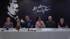 """Conferința de presă cu ocazia premierei filmului """"SIBERIA DIN OASE"""", un film de Leontina Vatamanu"""