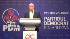Briefing de presă după Consiliul Politic Național al Partidului Democrat din Moldova