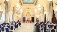 Declarație de presă susținută de Președintele României, Klaus Iohannis, și Prim-ministrul Republicii Moldova, Maia Sandu