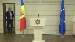 Declarația de presă a membrului Comisiei de anchetă, Vlad Bătrîncea, după ședința comisiei de anchetă pentru analiza modului de organizare a privatizării și concesionării proprietății publice (2013-2019)