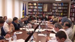 Ședință de lucru organizată de Comisia cultură, educație, cercetare, tineret, sport și mass-media cu rectorii instituțiilor superioare de învățământ din Republica Moldova