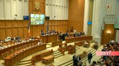 Ședința comună a Camerei Deputaților și Senatului României din 3 iulie 2019