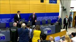 Conferință de presă susținută de noul președinte al Parlamentului European, David-Maria Sassoli