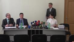 Conferință de presă organizată de Procuratura Generală