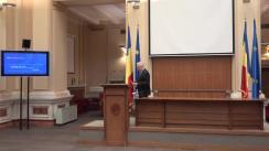 Briefing de presă susținut de Guvernatorul BNR, Mugur Isărescu
