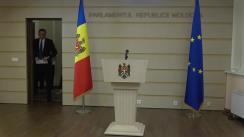 Declarația fracțiunii parlamentare a Partidului Politic ȘOR în timpul ședinței Parlamentului Republicii Moldova din 5 iulie 2019