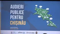 Audieri publice pentru Chișinău pe subiectul gestionării stațiilor de așteptare în mun. Chișinău