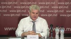 """Conferința de presă organizată de Ion Dron, Președintele AO """"Centrul de Inițiative și Monitorizare Autorități Publice"""" cu tema """"Modificările propuse la Legea procuraturii par să fie o diversiune"""""""