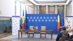 Ceremonia de semnare a Acordului de servicii de asistență tehnică pentru implementarea proiectelor între Ministerul Sănătății și Banca Europeană de Investiții
