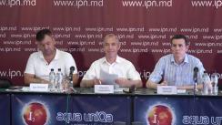 """Conferință de presă organizată de Mișcarea Civică """"PRO"""" cu tema """"Parcursul european al Republicii Moldova spre consolidare sau dezbinare?"""""""