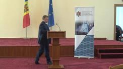 """Briefing susținut de Ministrul Economiei și Infrastructurii, Vadim Brînzan, cu tema """"Schemele frauduloase din economia națională"""""""