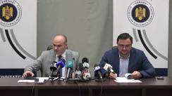 Conferință de presă organizată de Autoritatea Electorală Permanentă pe tema lansării platformei online pentru preînregistrarea alegătorilor români cu domiciliul sau reședința în străinătate, în vederea exercitării dreptului de vot la alegerile prezidențiale