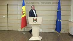 Declarația fracțiunii parlamentare a Partidului Politic ȘOR după ședința Parlamentului Republicii Moldova din 9 iulie 2019