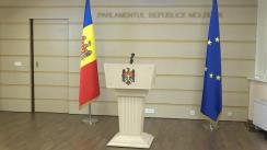 Declarațiile lui Grigore Novac după ședința Parlamentului Republicii Moldova din 9 iulie 2019