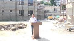 Conferință de presă susținută de Ruslan Codreanu privind raportul de activitate pentru perioada în care a deținut funcția de primar interimar al municipiului Chișinău