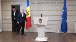 Declarația fracțiunii PSRM înainte de ședința Parlamentului Republicii Moldova din 12 iulie 2019