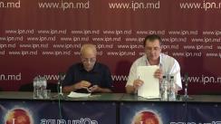 """Conferința de presă cu tema """"Despre constituirea Tribunalului Popular pentru Anchetarea Crimelor Justițiabililor din Republica Moldova"""""""