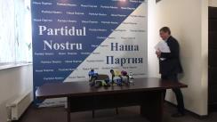 """Conferință de presă susținută de Președintele """"Partidului Nostru"""", Renato Usatîi, cu tema """"Țara trebuie să cunoască adevărul! Prezentarea părților 2 și 3 a raportului Kroll-2"""""""