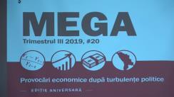 """Conferința MEGA, ediția aniversară a XX-a """"Provocări economice după turbulențe politice"""""""