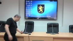 Briefing de presă organizat de Inspectoratul General al Poliției privind recentele infracțiuni grave comise în capitală