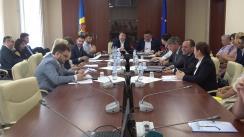 Ședința Grupului de lucru asupra problemelor pieței de asigurări, constituit în cadrul Comisiei economie, buget și finanțe