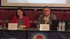 """Conferința de presă organizată de Centrul pentru Jurnalism Independent cu tema """"Elemente de propagandă, manipulare informațională și încălcare a normelor deontologiei jurnalistice în spațiul mediatic autohton"""" (1 aprilie – 30 iunie 2019)"""