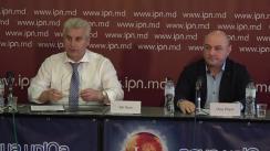 """Conferința de presă organizată de Ion Dron, Președintele AO """"Centrul de Inițiative și Monitorizare Autorități Publice"""" cu tema """"Vinificatori deposedați de bunuri prin scheme obscure cu hotărâri judecătorești"""""""