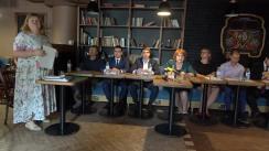 """Ședința Clubului Jurnaliștilor de Investigație cu tema """"Laundromatul rusesc și justiția din Moldova: provocări și impedimente în investigarea schemei infracționale"""""""