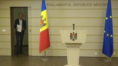 Briefing de presă susținut de deputatul Liviu Vovc referitor la situația din domeniul forestier