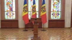 Declarațiile Președintelui Republicii Moldova, Igor Dodon, după ședința Consiliul Suprem de Securitate din 18 iulie 2019
