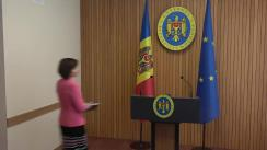 Declarațiile Prim-ministrului Republicii Moldova, Maia Sandu, după ședința Guvernului Republicii Moldova din 18 iulie 2019