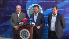 Declarații după ședința Comisiei Electorale Centrale din 19 iulie 2019