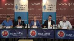 """Dezbateri publice cu tema """"Dezoligarhizarea"""" și """"Decapturarea"""" statului: limitele legalității"""""""