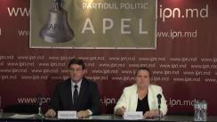 """Conferința de presă cu tema """"Lansarea Partidului Politic APEL"""""""