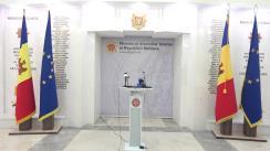 Briefing de presă susținut de Viceprim-ministrul, ministru al Afacerilor Interne, Andrei Năstase