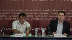 """Conferința de presă organizată de Moldovan Economic Freedom Institute """"Milton Friedman"""" prilejuită de lansarea studiului """"Analiza proiectului legislativ Nr.52 din 31.05.2019 (controlul tutunului)"""""""