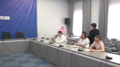 Conferința de presă organizată de Ministerul Finanțelor dedicată politicilor fiscale incluse în acordul cu Fondul Monetar Internațional, precum și rectificării bugetului de stat pentru anul 2019