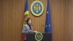 Declarațiile Prim-ministrului Republicii Moldova, Maia Sandu, după ședința Guvernului Republicii Moldova din 23 iulie 2019