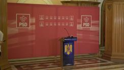 Conferință de presă după Comitetul Executiv Național al Partidului Social Democrat din 23 iulie 2019