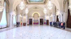 Ceremonia de depunere a jurământului de învestitură a unor membri ai Guvernului condus de Viorica Dăncilă