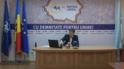 """Briefing de presă organizat de Partidul Liberal cu tema """"Confirmarea faptului că Dodon primește bani din Federația Rusă"""""""