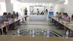 """EU Debates Cafe organizat de Institutul pentru Politici și Reforme Europene cu tema """"5 Ani de la semnarea Acordului de Asociere dintre Republica Moldova și Uniunea Europeană: cum asigurăm ireversibilitatea cursului european?"""""""
