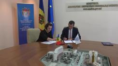 Semnarea a două proiecte de asistență tehnică FAO, care vor contribui la îmbunătățirea statisticii agricole și la o promovare îmbunătățită a produselor agroalimentare atât în țară cât și peste hotare
