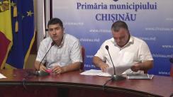 Briefing susținut de consilierii municipali ai PSRM după ședința săptămânală a serviciilor primăriei Chișinău din 29 iulie 2019